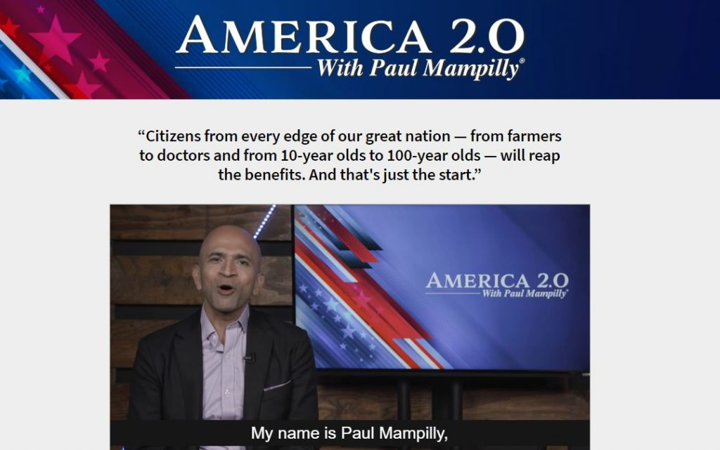 America 2.0 by Paul Mampilly Review