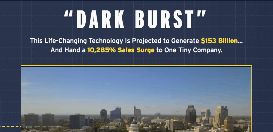 Dark Burst Solar Technology