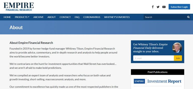 Empire Financial Research Reviews