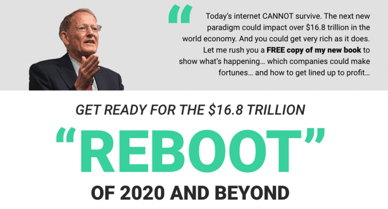 George Gilder Prediction 2020 ($16.8 trillion Reboot) Review