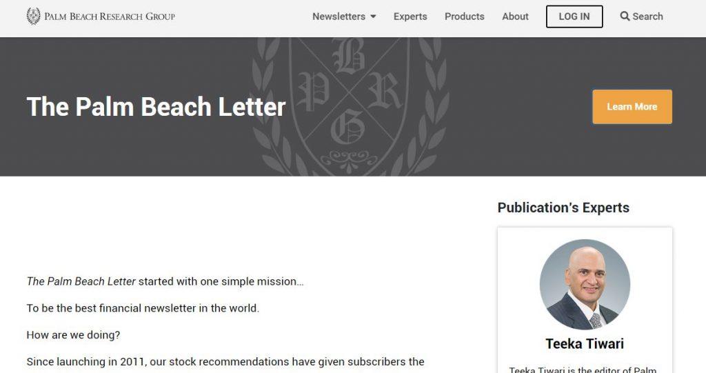 Palm Beach Letter Reviews