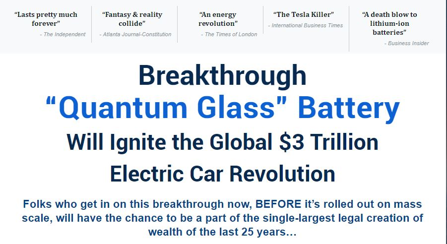 Quantum Glass Battery Review