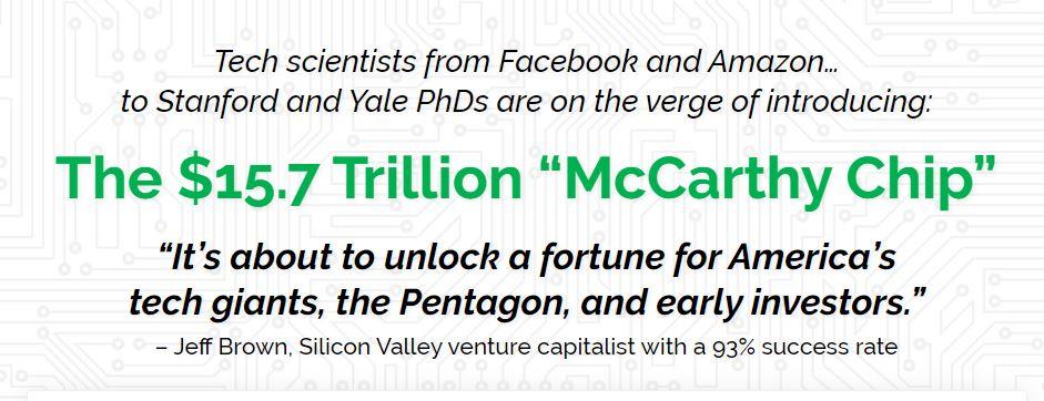 The $15.7 Trillion McCarthy Chip