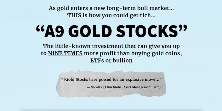 Adam O'Dell's A9 Gold Stocks