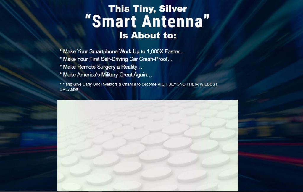 Tiny Silver Smart Antenna