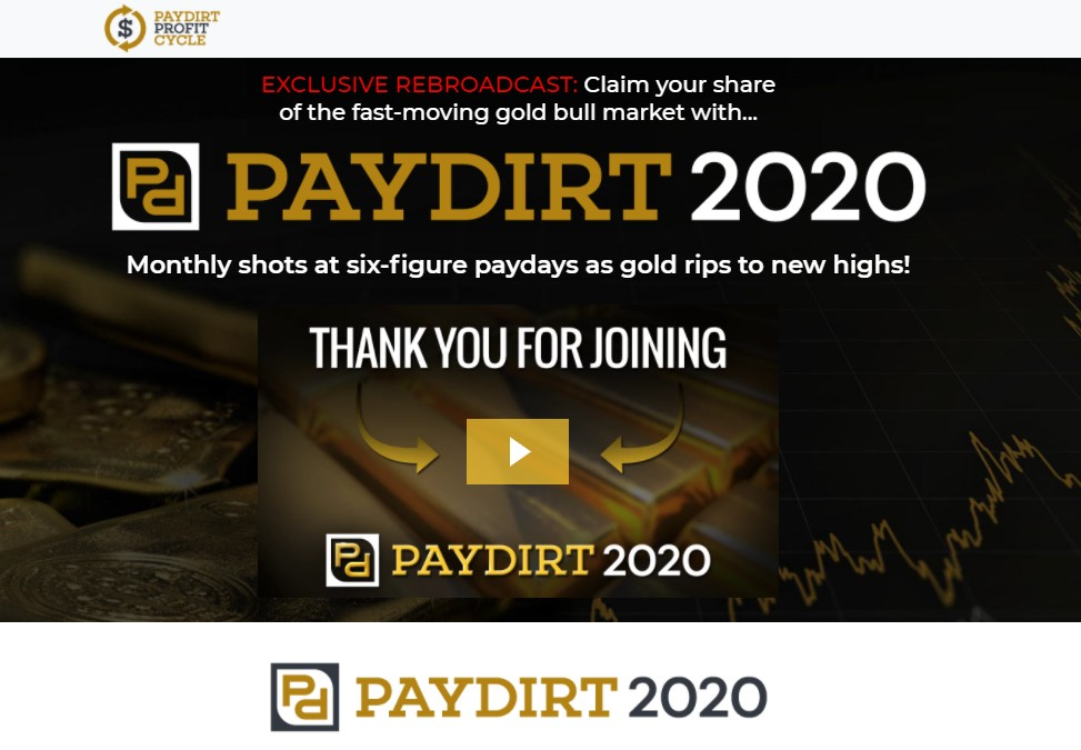 Paydirt 2020 Profit Summit