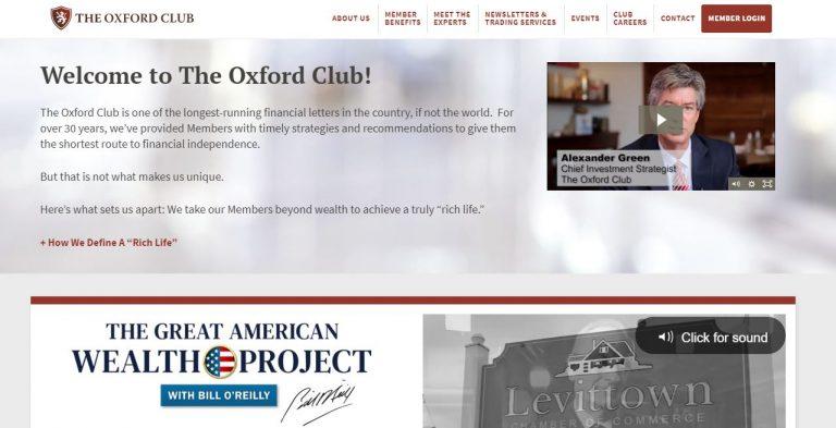 The Oxford Club Reviews