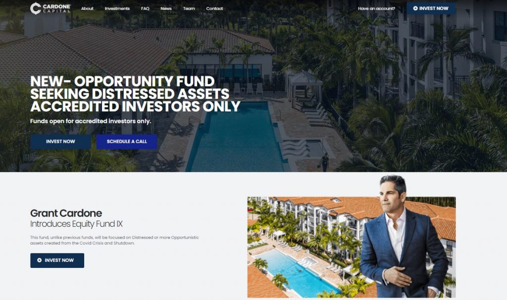 Cardone Capital Review
