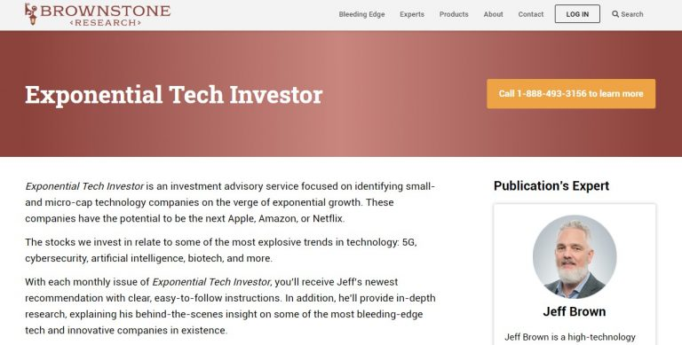 Exponential Tech Investor by Jeff Brown