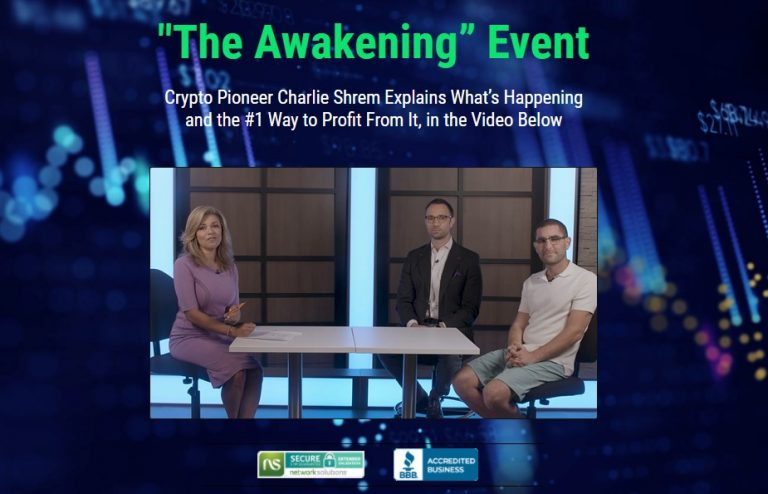 The Awakening Event (Matt McCall, Charlie Shrem)