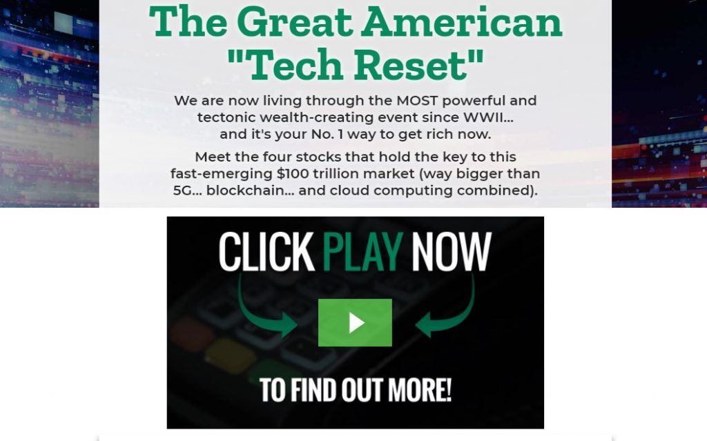 "The Great American ""Tech Reset"" by Chris DeHaemer"