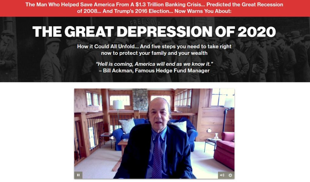 The Great Depression of 2020 (Jim Rickards)