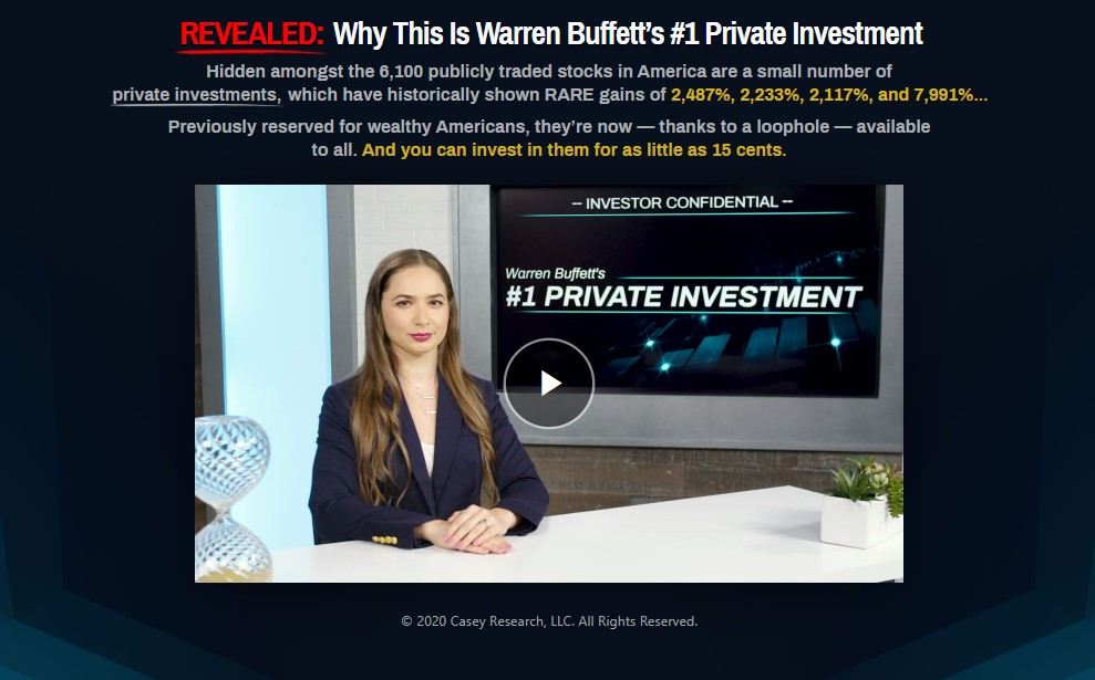 Warren Buffet's #1 Private Investment (Buffet's $12 Billion Lie) by Dave Forest