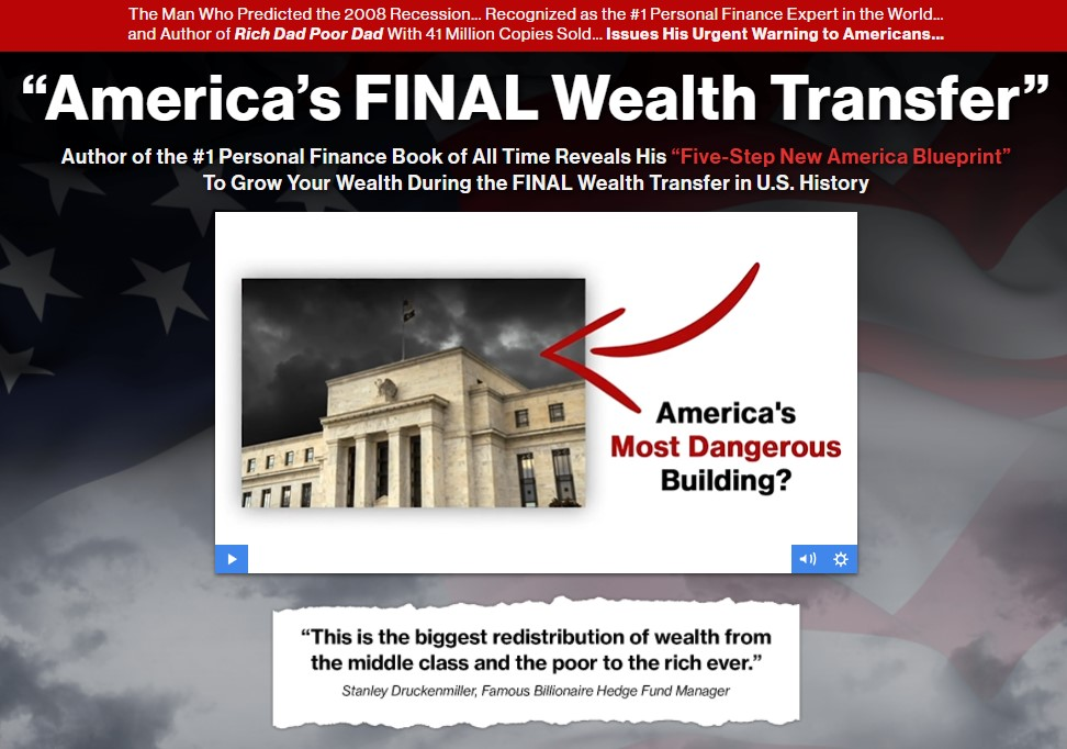 Americas Final Wealth Transfer (Robert Kiyosaki)