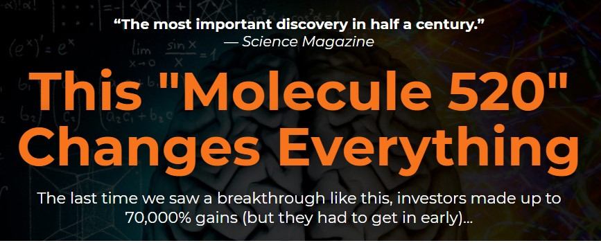"""This """"Molecule 520"""" Changes Everything by Jeff siegel"""