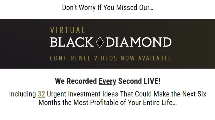 Virtual Black Diamond Conference