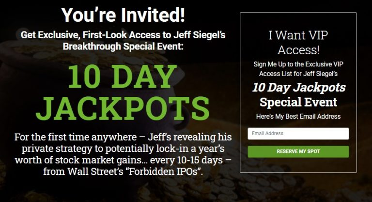10 Day Jackpots