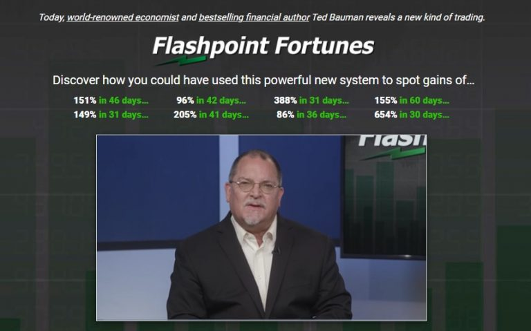 Flashpoint Fortunes (Clint Lee and Ted Bauman)