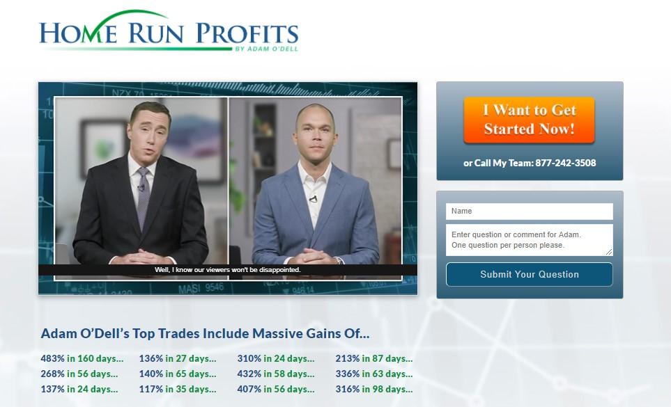 Home Run Profits (Adam O'Dell)