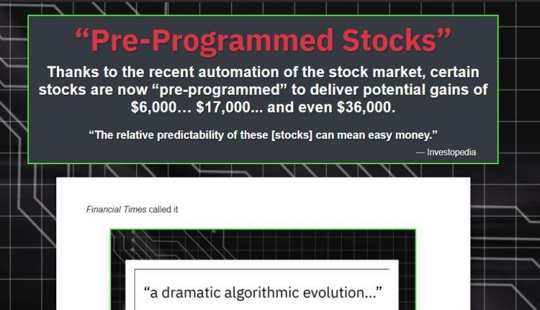 Jeff Clark's Pre-Programmed Stocks