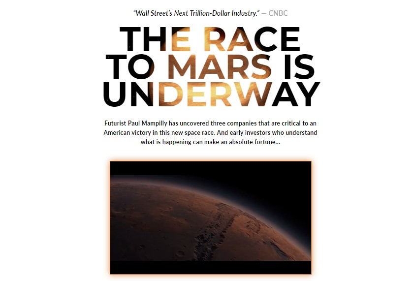 The Race to Mars is Underway