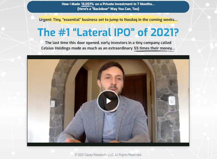 Lateral IPO