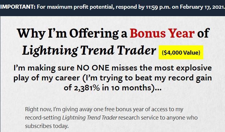 Lightning Trend Trader