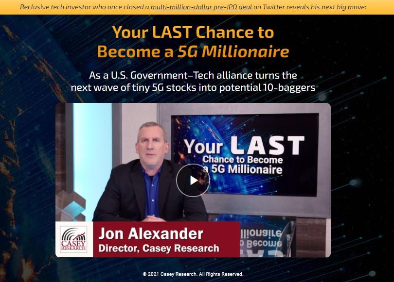 The Final 5G 10-Baggers by John Pangere