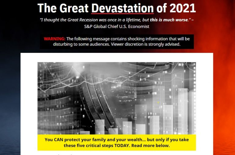 The Great Devastation of 2021 (Andy Snyder)