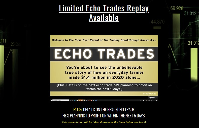 Echo Trades by Rob Booker and Jeffry Turnmire
