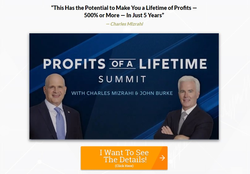Profits of A Lifetime Summit by Charles Mizrahi