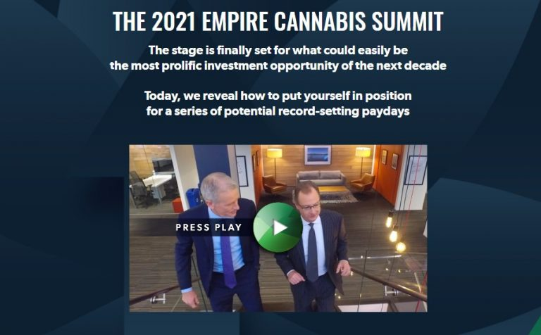 The 2021 Empire Cannabis Summit by Whitney Tilson and Tom Carroll