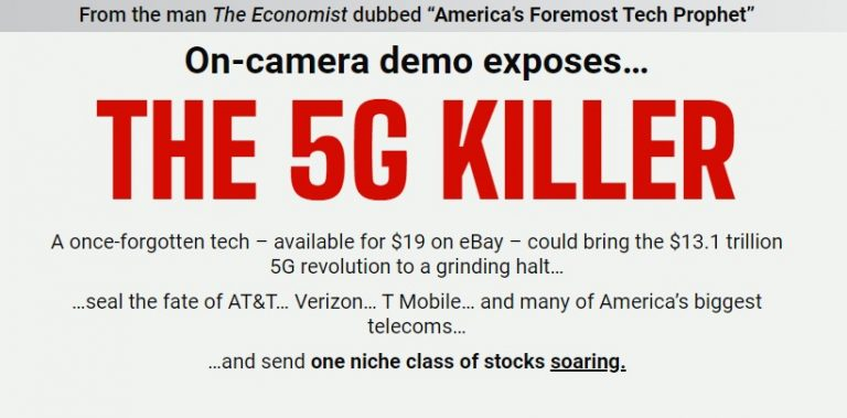 George Gilder's The 5G Killer