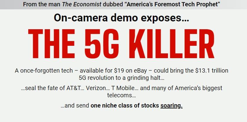 George Gilder's The 5G Killer