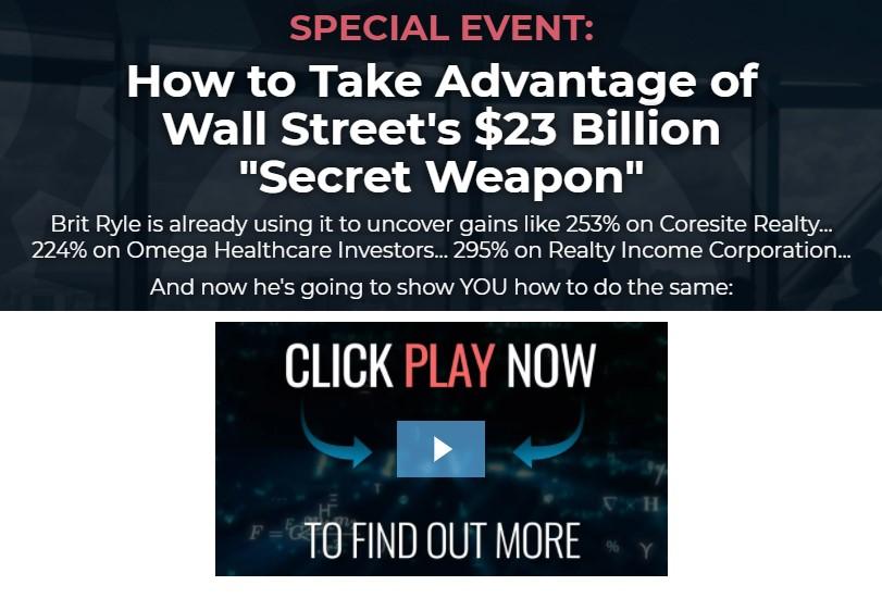Wall Streets $23 Billion Secret Weapon