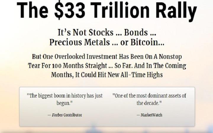 The $33 Trillion Rally (Ted Bauman)