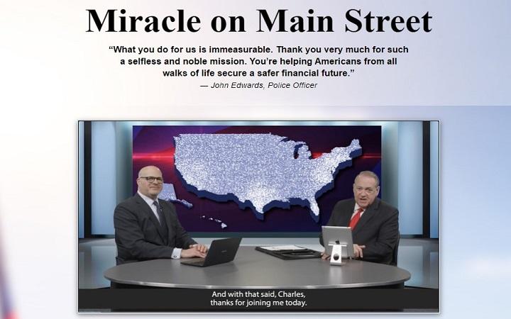 Charles Mizrahi's Miracle on Main Street (with Mike Huckabee)