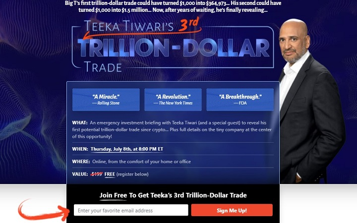 Teeka Tiwari's 3rd Trilllion Dollar Trade