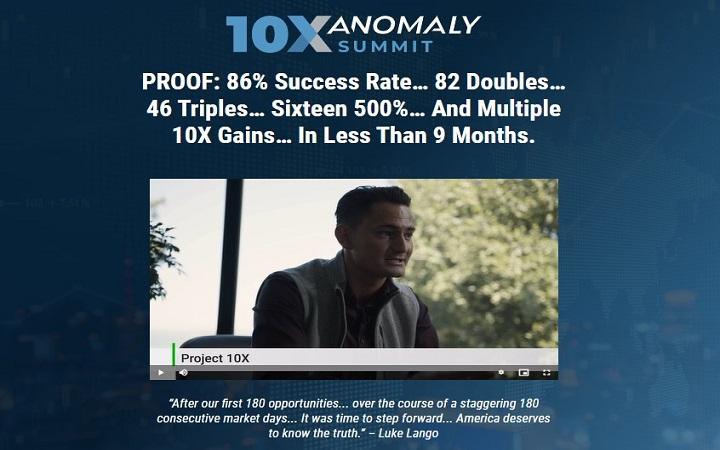 Luke Lango's The 10X Anomaly Summit